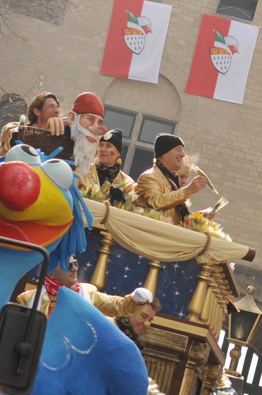Tom Gerhardt im Kölner Karneval 2012 (Foto: Marco Verch)