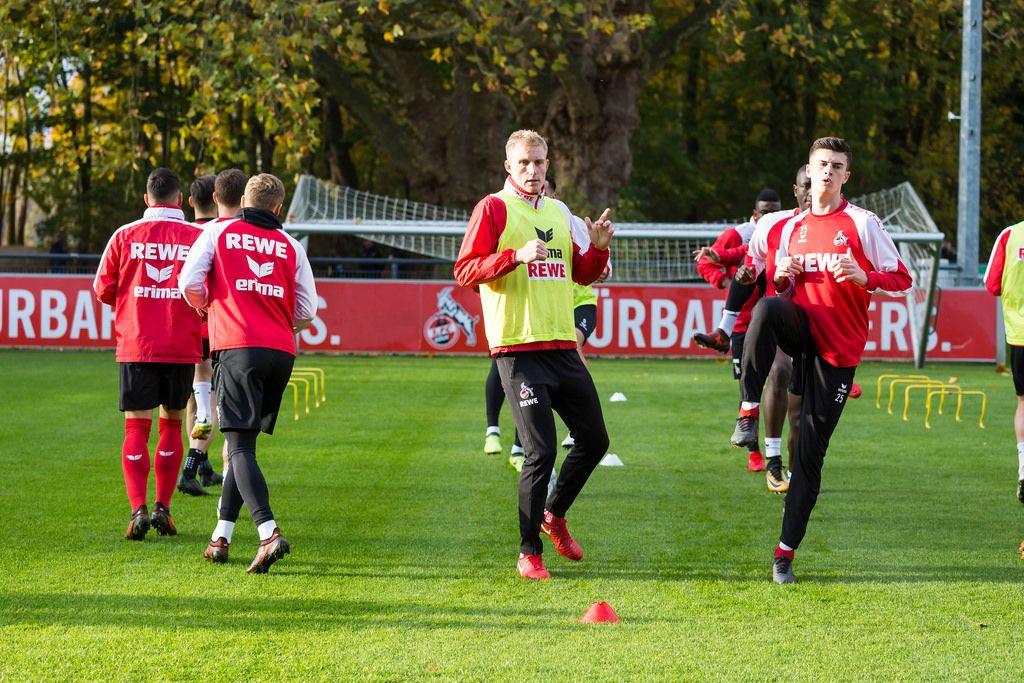 1. FC Köln players during training 13.11.2017
