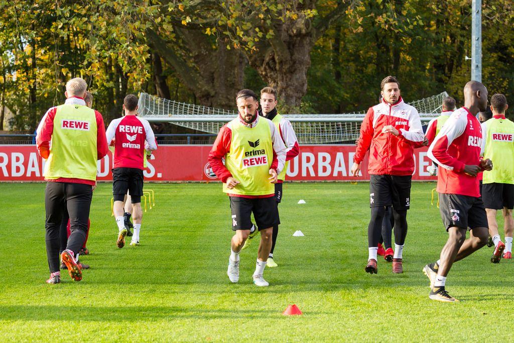 1. FC Köln Spieler beim Training am 13.11.2017