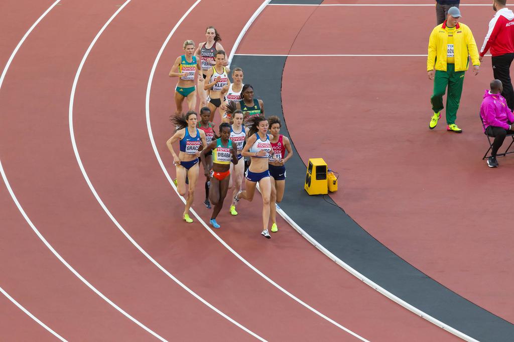 1500m Lauf der Frauen in London 2017
