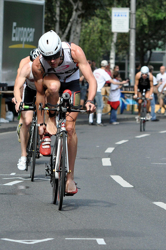 180km Rad beim Kölntriathlon 2012