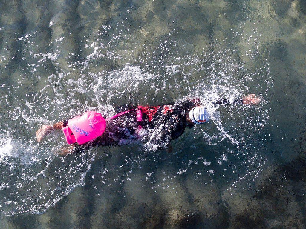 360swim SafeSwimmer im Einsatz