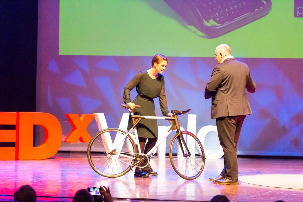 3D gedrucktes Fahrrad XT-CF20 - TEDxVenlo 2017