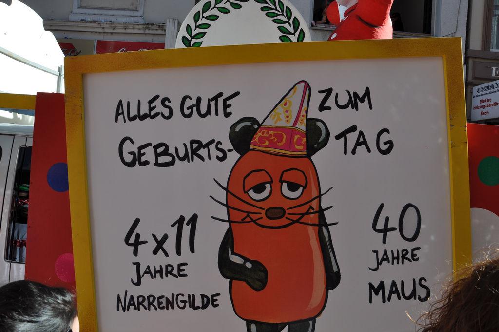 40 Jahre Maus am Rosenmontagszug 2011, Köln