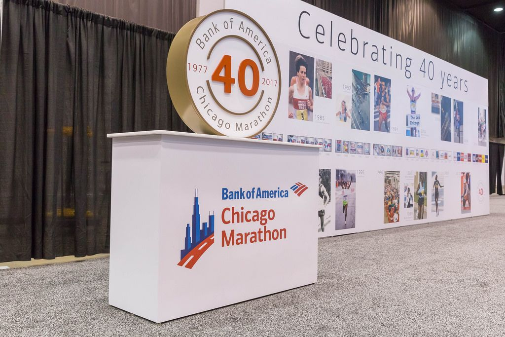40. Jubiläum des Chicago Marathon