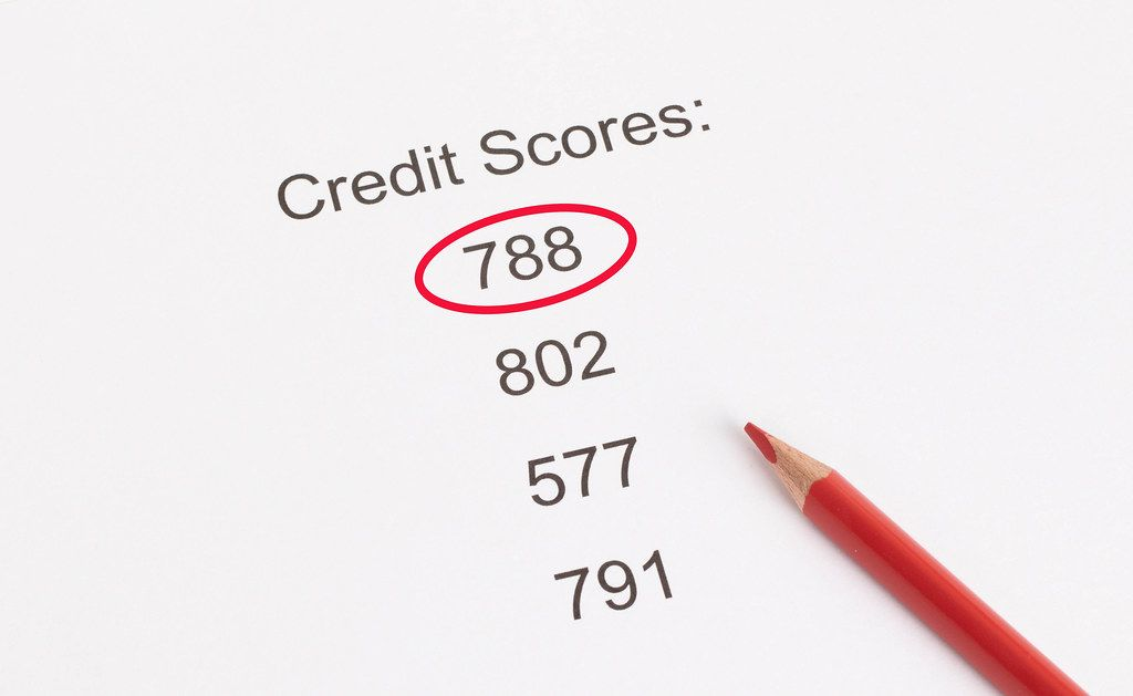 788 points Credit Score result
