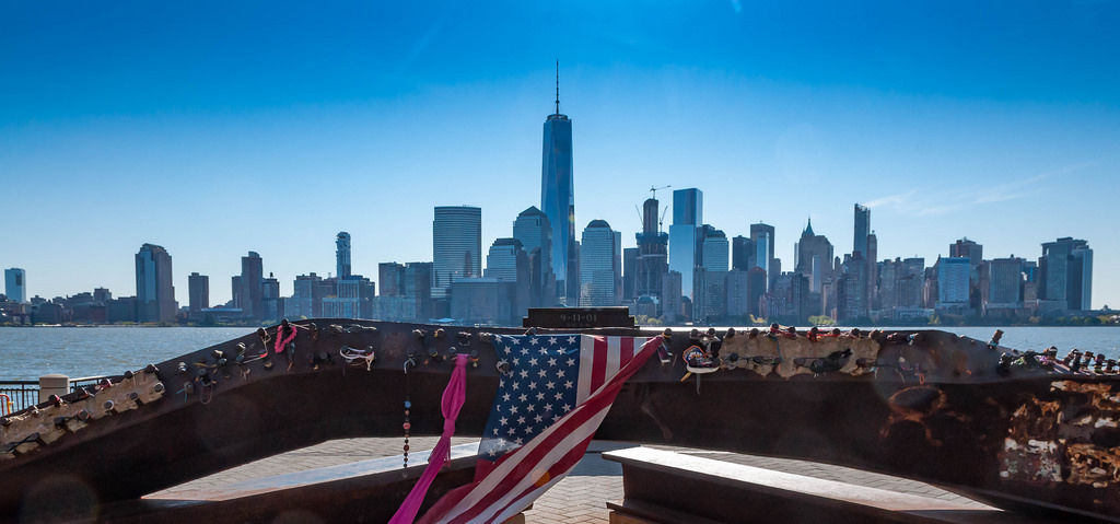 9/11 Memorial Place in Jersey