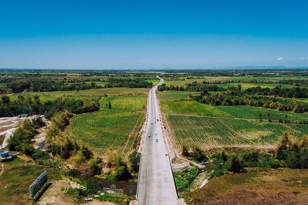 A newly built highway in Bacolod  (Flip 2019)
