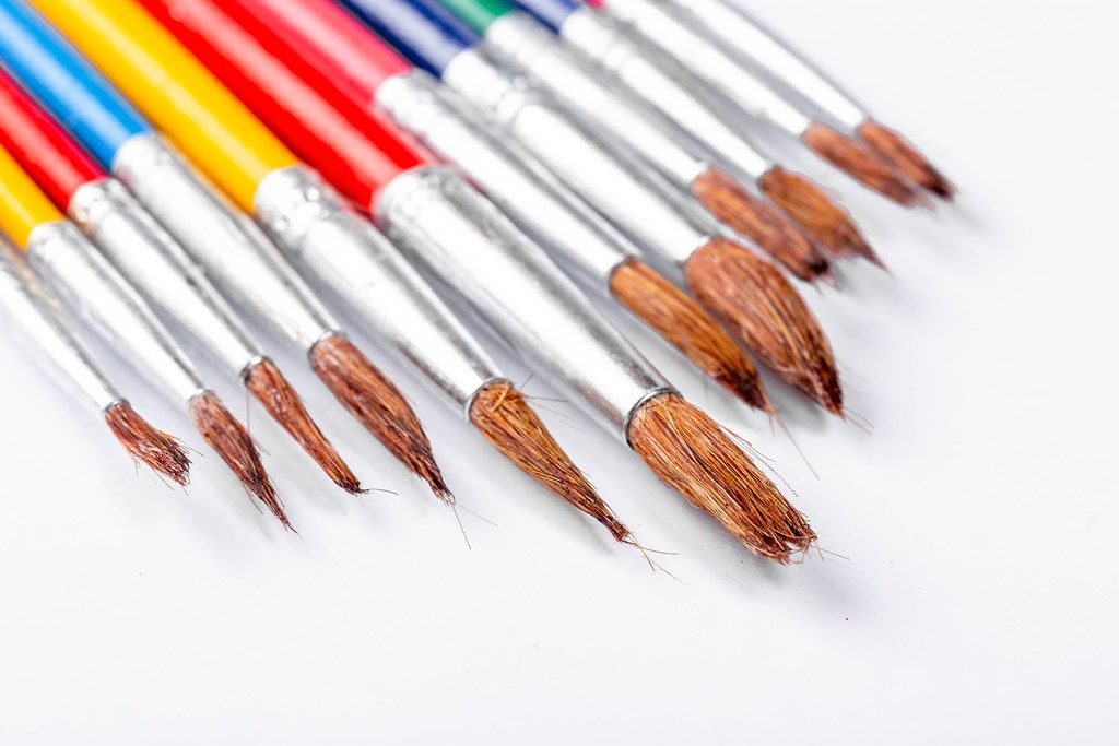 A set of different brushes for drawing (Flip 2019)