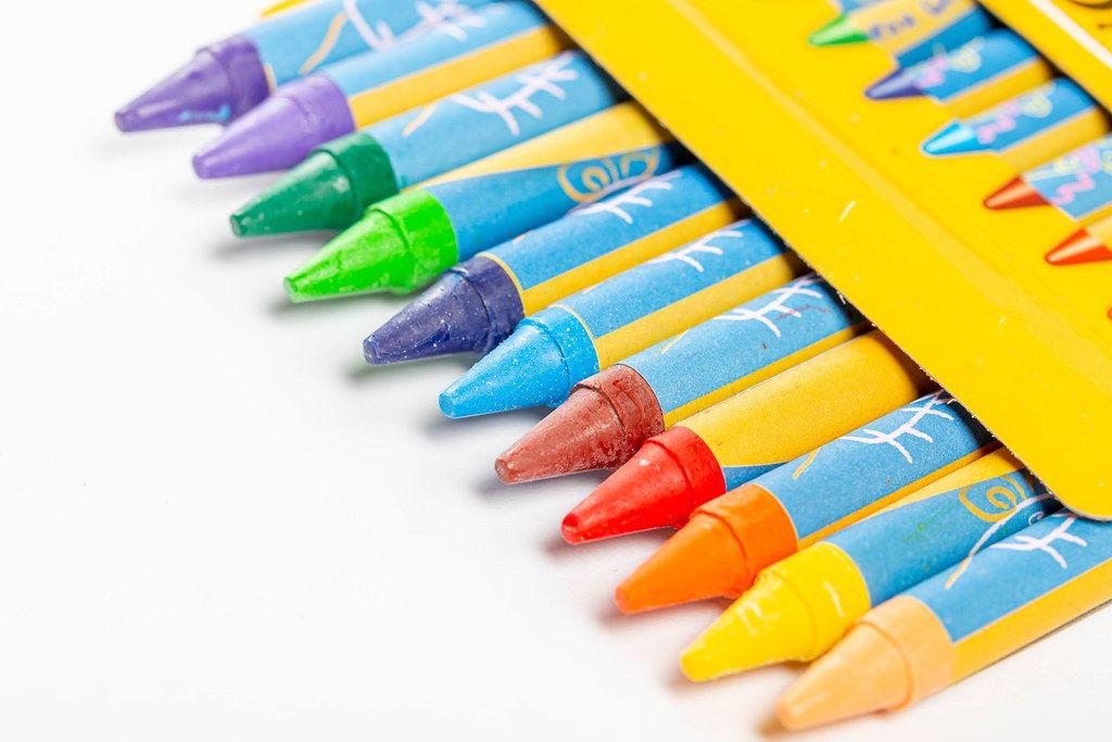 A small box of color pencils