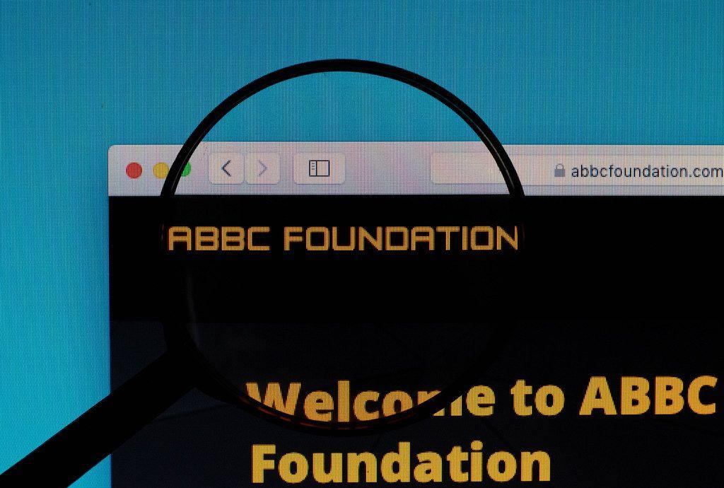 ABBC Foundation logo under magnifying glass
