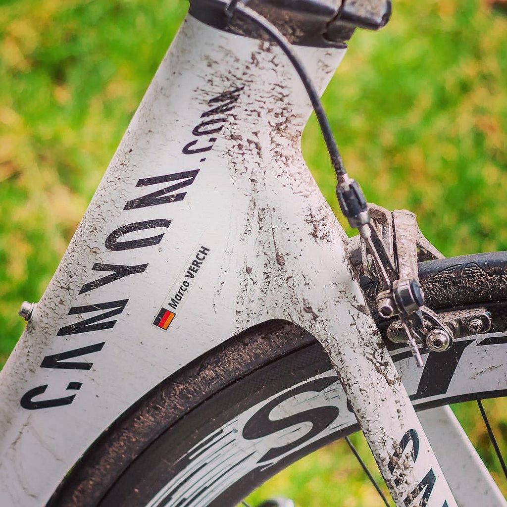Achievement Level: Mud 😂 #ironmantraining #ironmanfrankfurt #triathlete #training #karneval