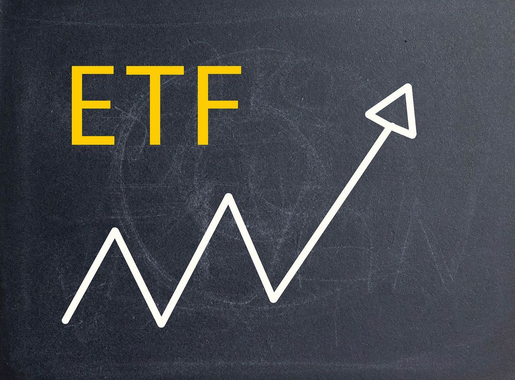 Acronym ETF on blackboard