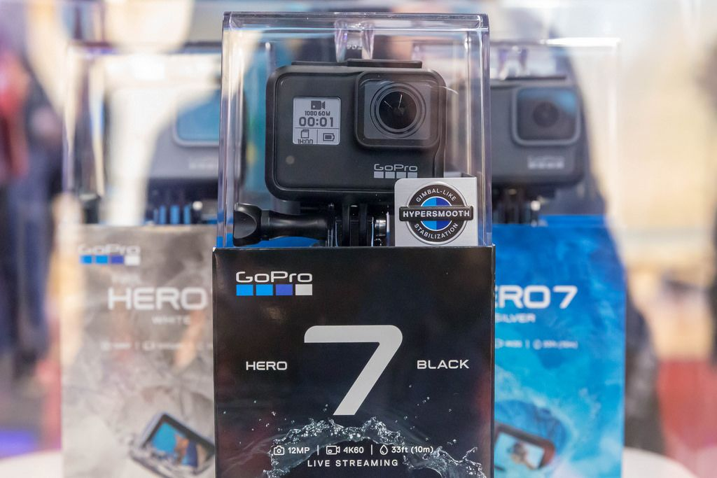 Action Kameras GoPro Hero7 black, silver, white in Originalverpackung