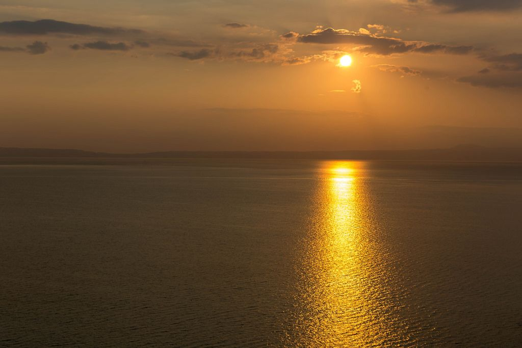 Aegean Sea at sunrise
