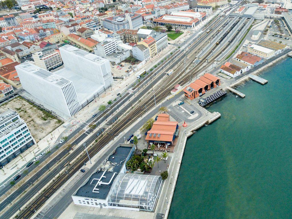 Aerial of EDP - Energias de Portugal