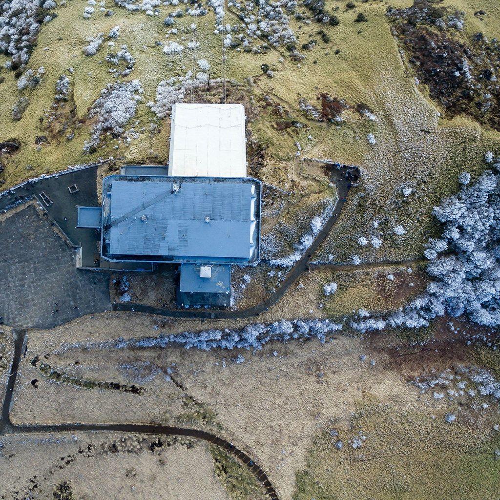 Aerial of Hakone Rope