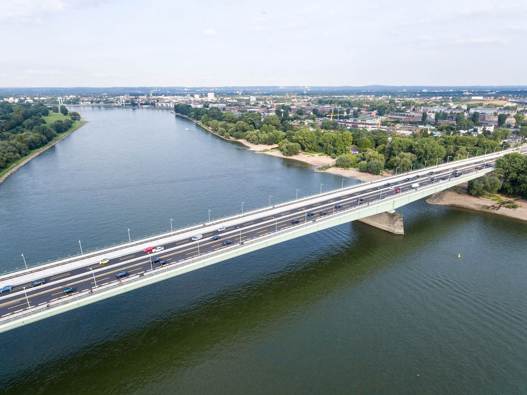 Aerial Photography: Zoobrücke Cologne