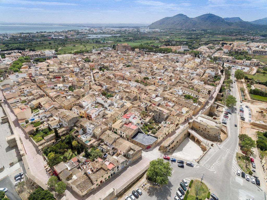 Aerial Picture of Alcúdia