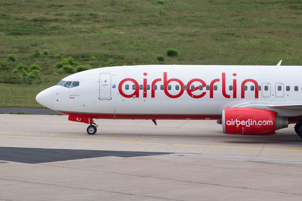 airberlin-Maschine
