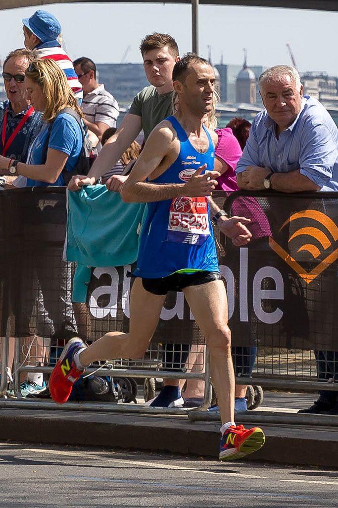 Alberto Mosca - London Marathon 2018