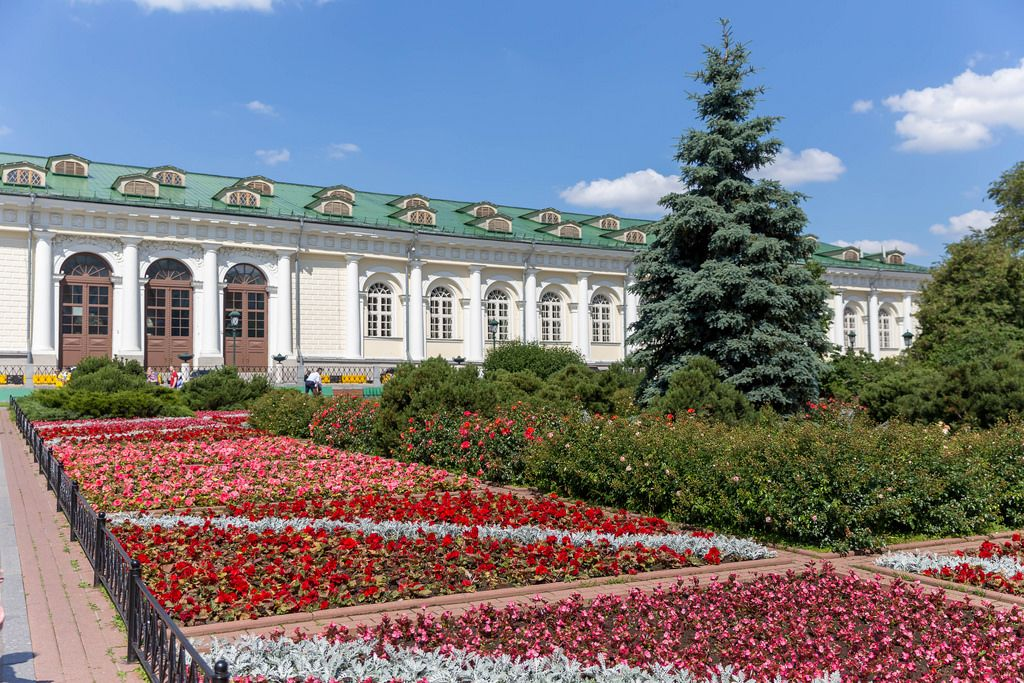 Alexandergarten in Moskau