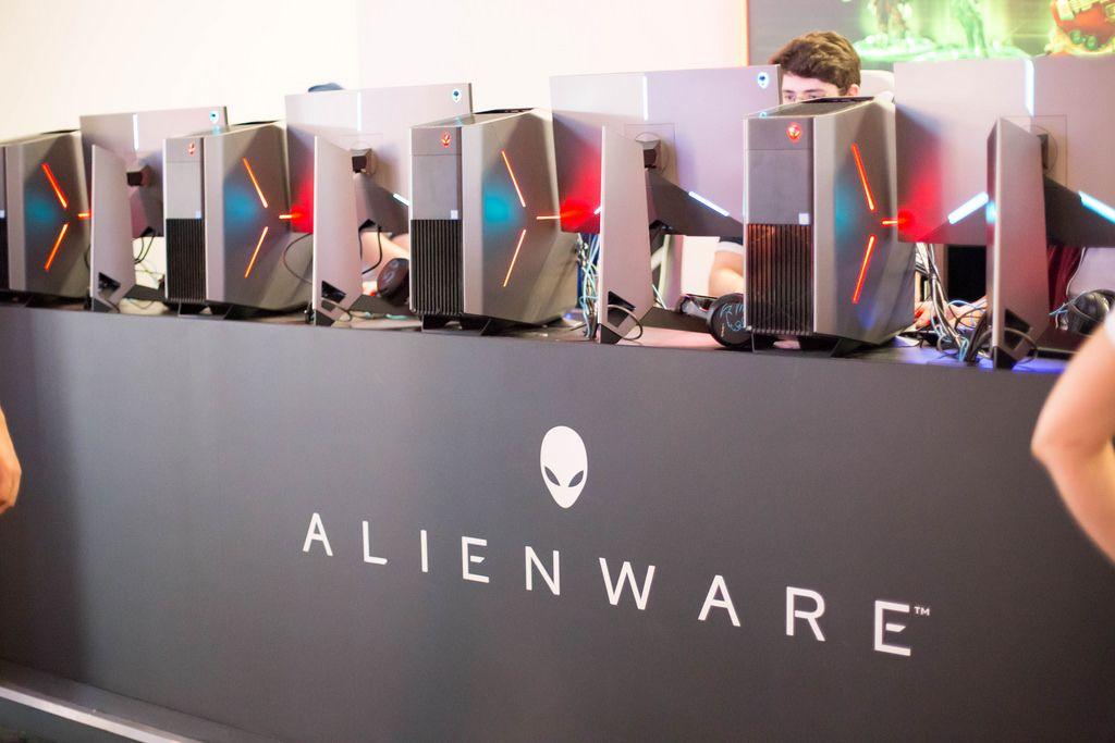 Alienware bei der Gamescom 2017