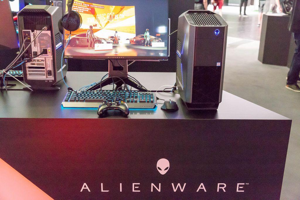 Alienware Gaming-PC - Gamescom 2017, Köln