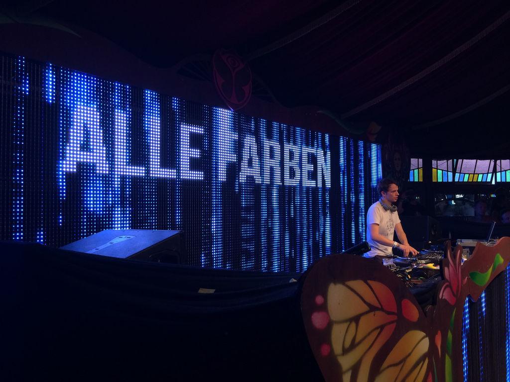 Alle Farben @ Tomorrowland