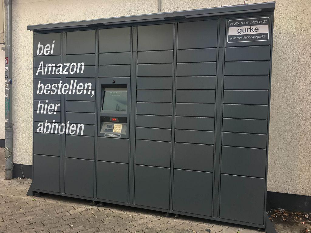 Amazon Locker in Köln-Ehrenfeld