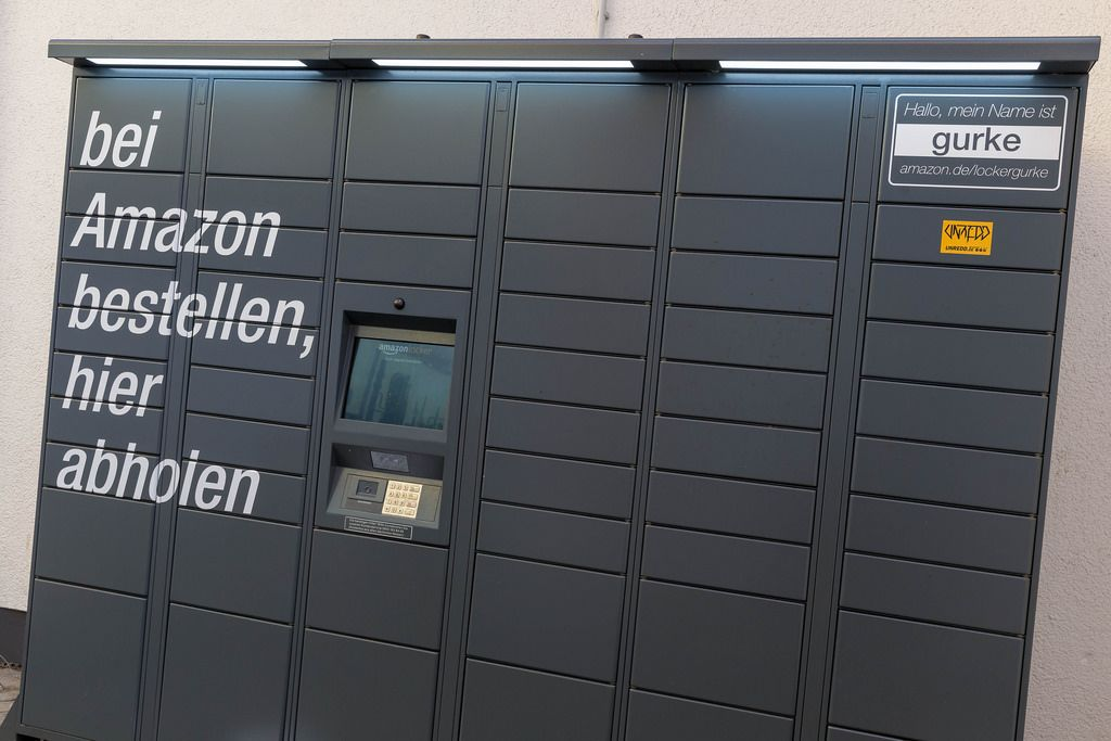 Amazon Locker - Paket-Abholstation
