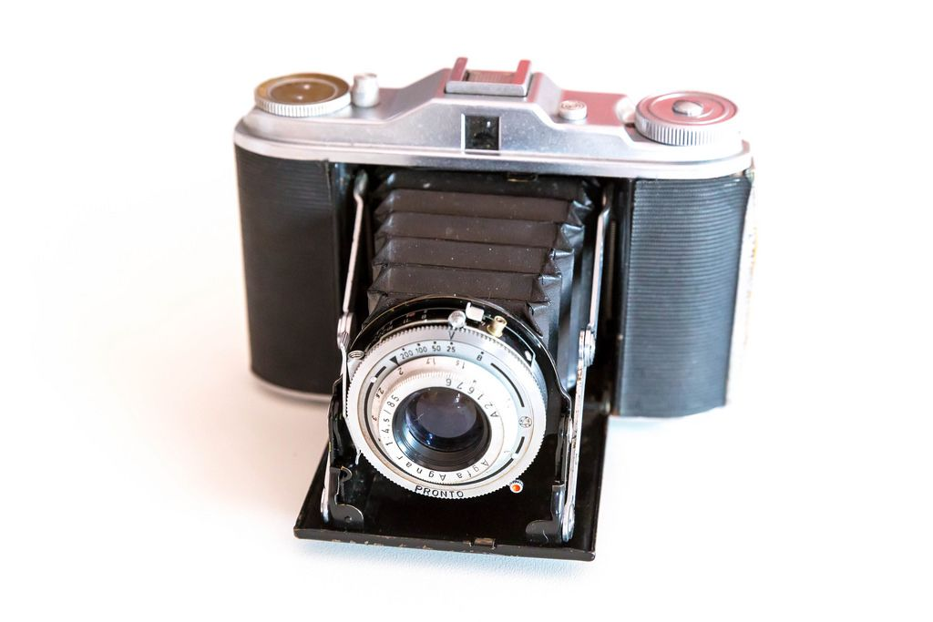 An old AGFA camera