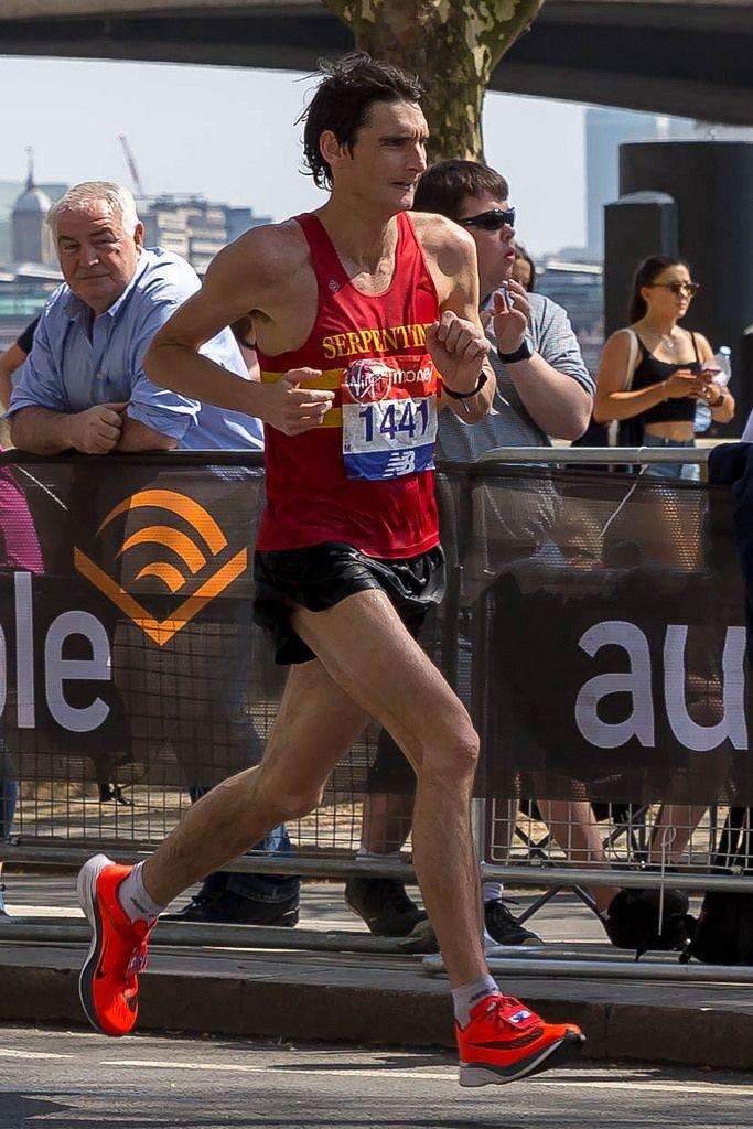 Andrew Greenleaf - London Marathon 2018