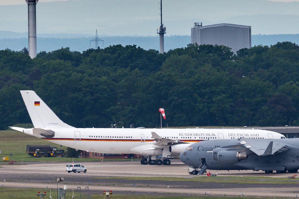 Angela Merkel: Notlandung am Flughafen Köln/Bonn am 29.11.2018