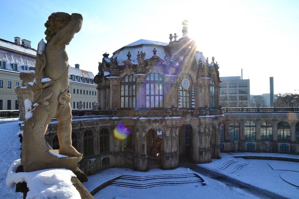 Angels of Zwinger (Dresden)