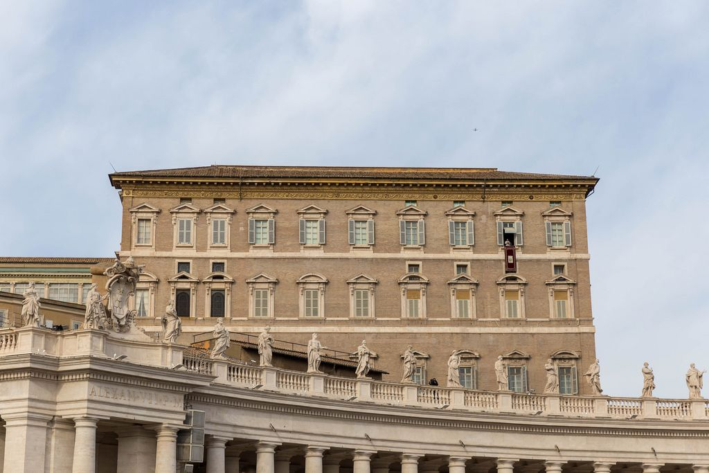 Angelus auf dem Peterplatz im Vatikan