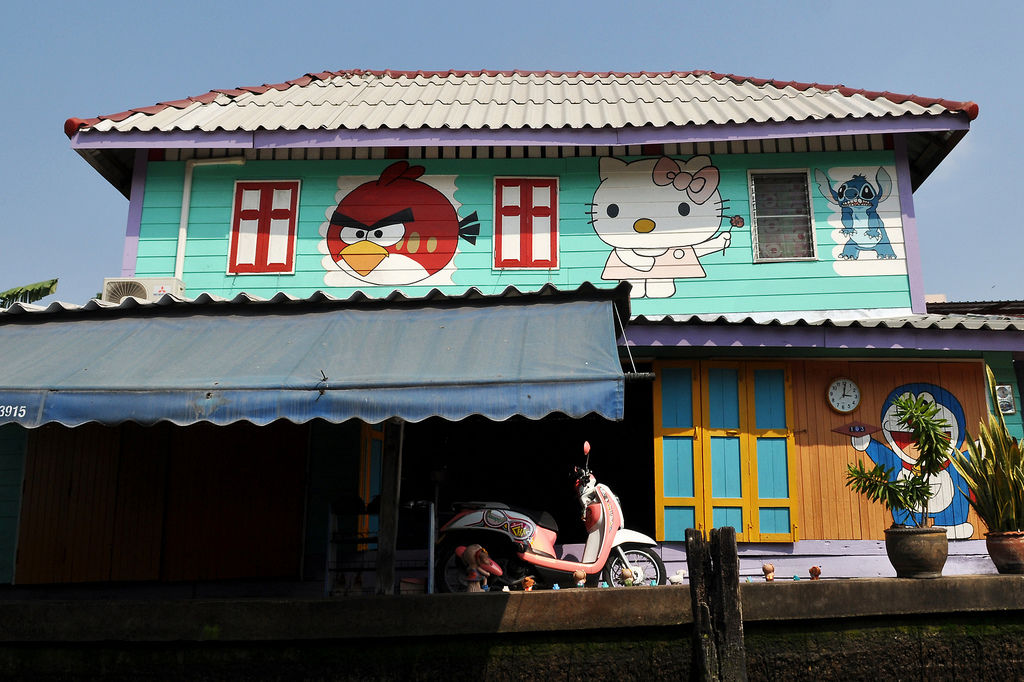 Angry Birds & Hello Kitty Haus