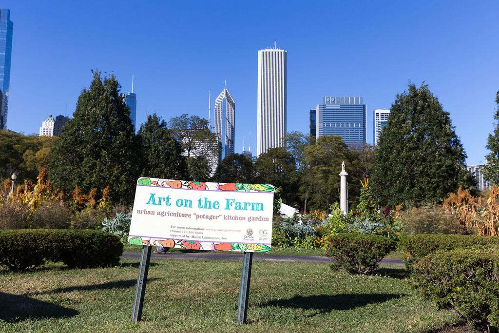 Art on the Farm: urbaner Gemüsegarten in Chicago