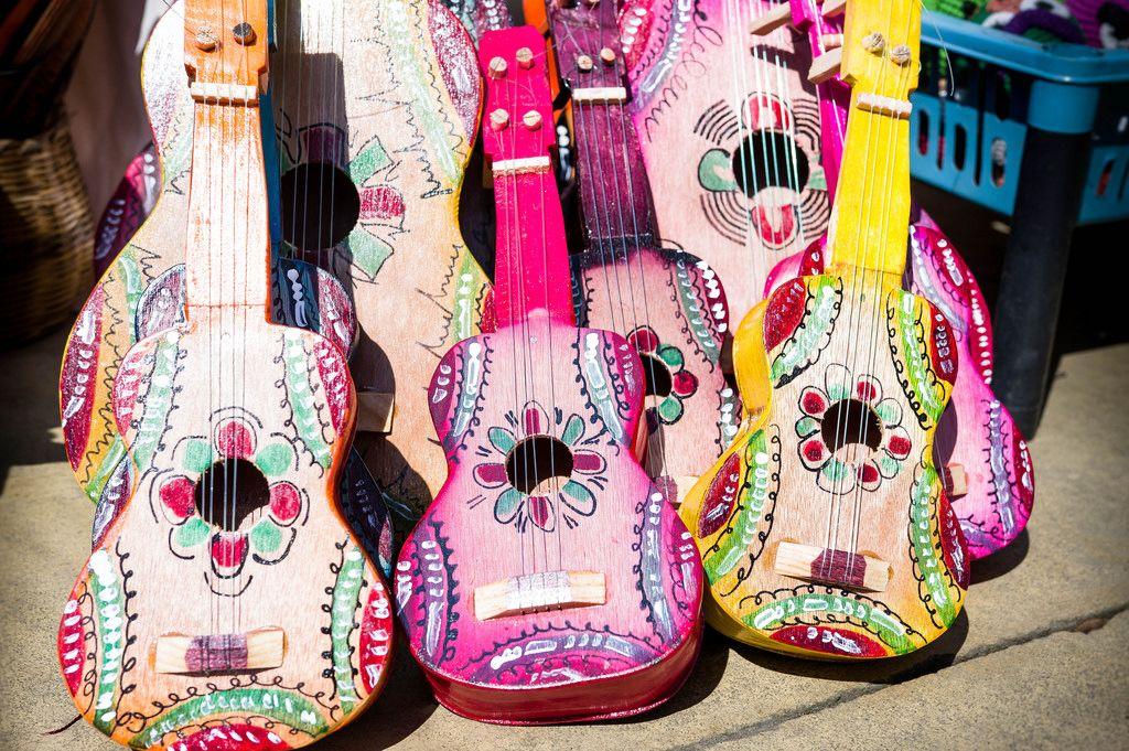 Artisan toy guitars