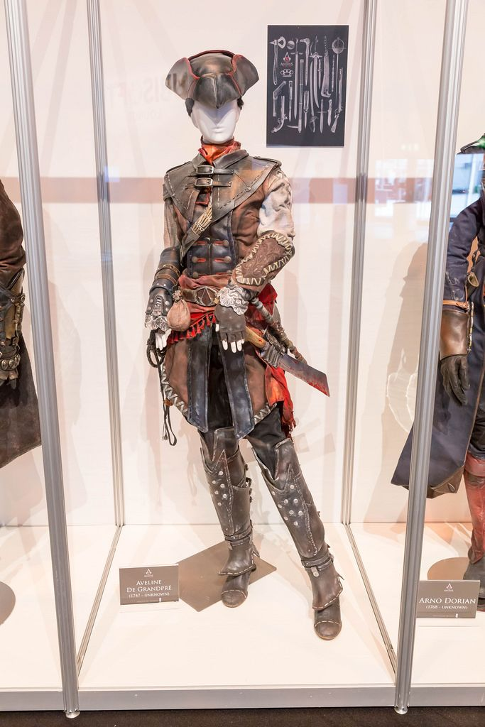 Assassin's Creed Cosplay Aveline De Grandpre Kostüm - Gamescom 2017, Köln