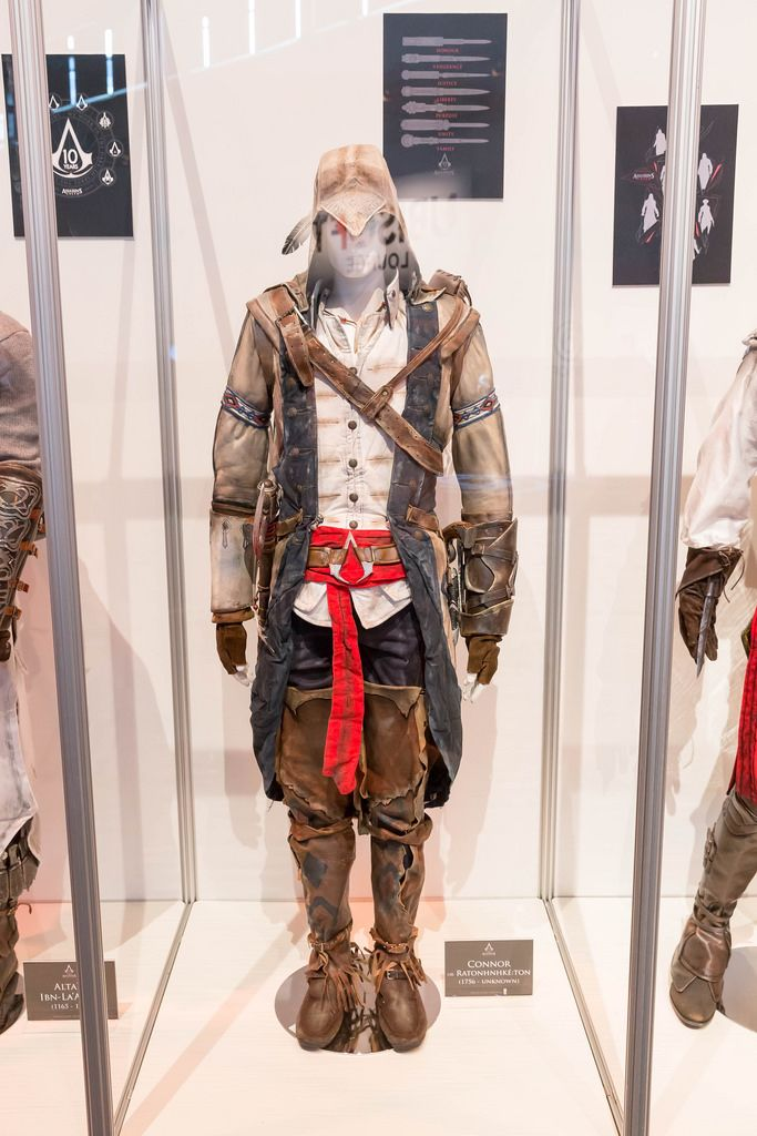Assassin's Creed Cosplay Connor Kostüm - Gamescom 2017, Köln