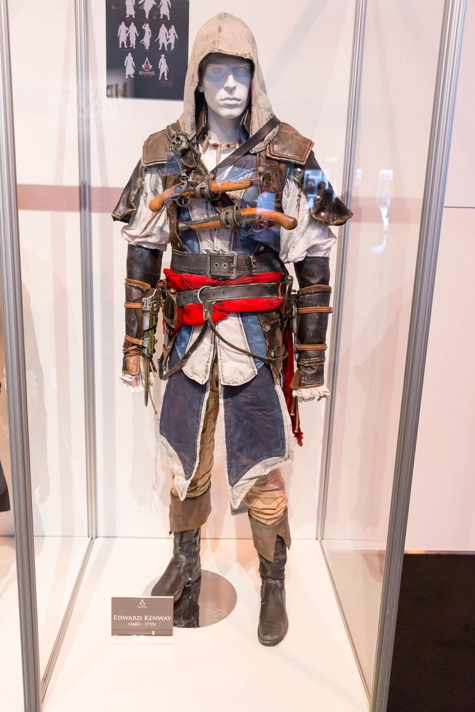 Assassin's Creed Cosplay Edward Kenway Kostüm - Gamescom 2017, Köln