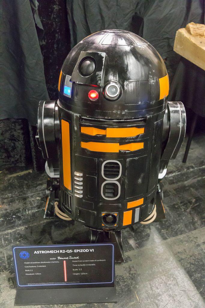 Astromech R2-Q5 aus Star Wars: Episode VI
