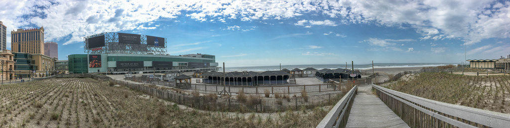 Atlantic City Beach Panorama