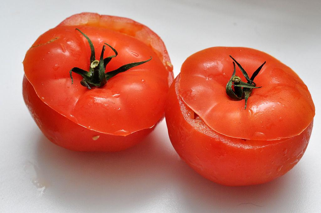 Aufgeschnittene Tomaten