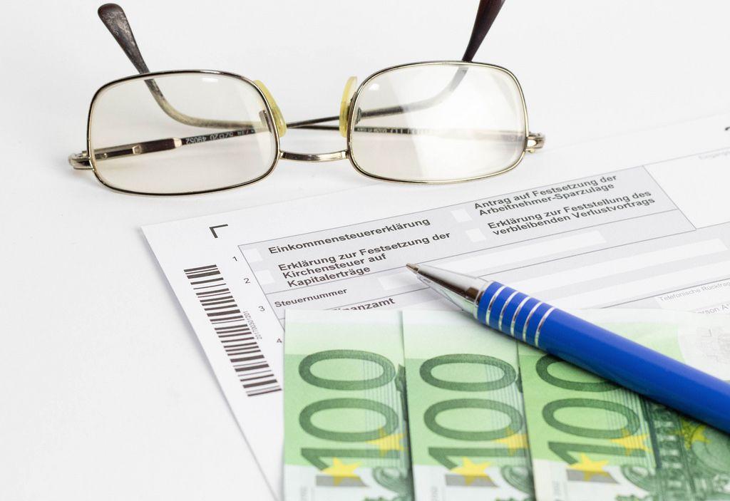 Ausfüllen der Steuererklärung