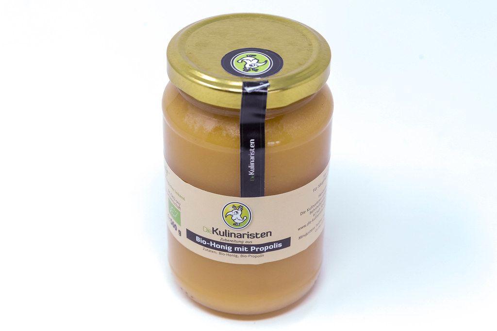 Ausgefallener Bio-Honig mit Propolis von