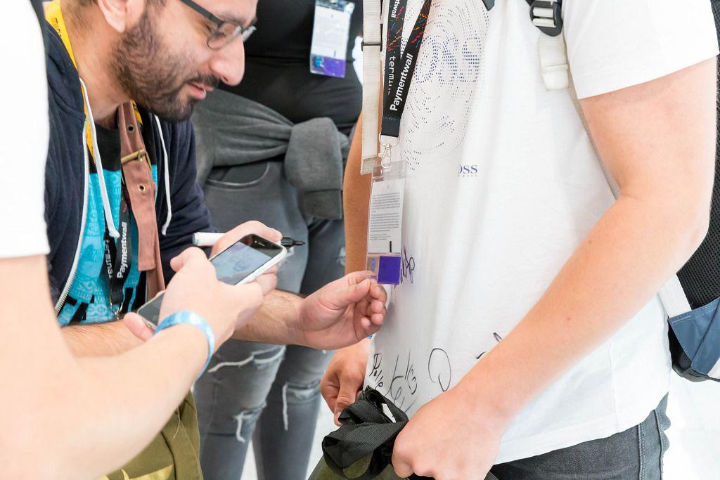 Autogrammstunde auf der Gamescom 2017