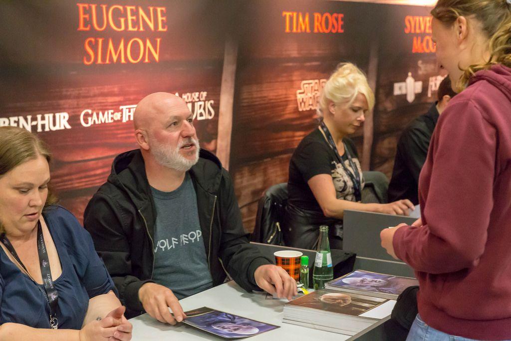 Autogrammstunde bei der Role Playing Convention 2018 in Köln