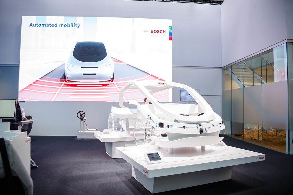 Automated mobility solution by Bosch: innovation for better road safety